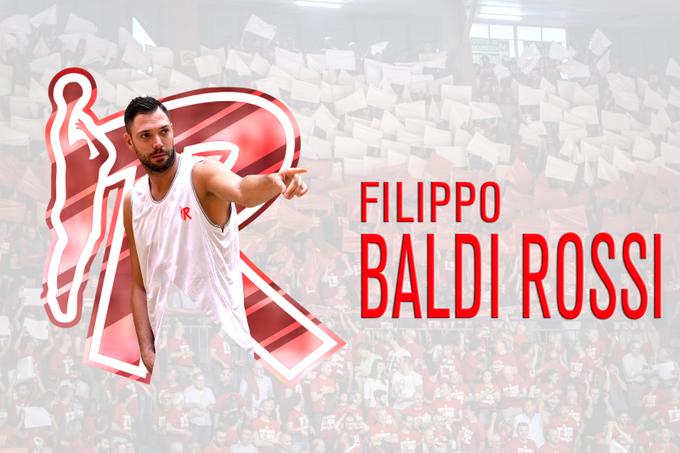 Pallacanestro Reggiana annuncia la firma di Filippo Baldi Rossi
