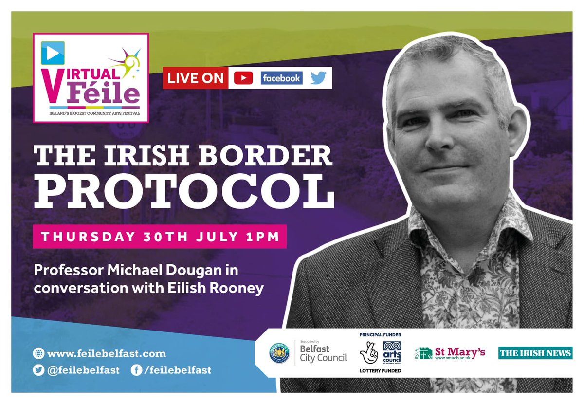 """I very much enjoyed this """"In Conversation"""" - recording due out on Thursday.  General gist: Neither Tories nor DUP understand borders. Which is ironic, given how much they screech on about them."""
