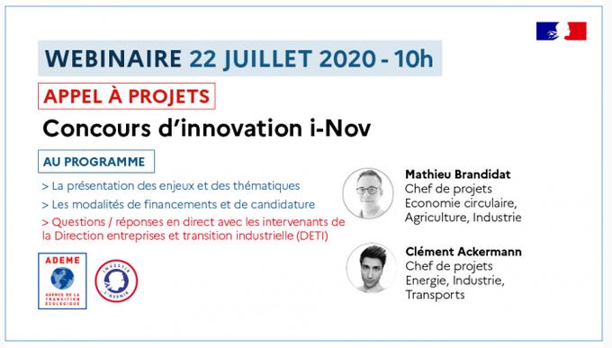 L'#ADEME, l'Agence de la transition écologique, en partenariat avec _Innovation, organise u....