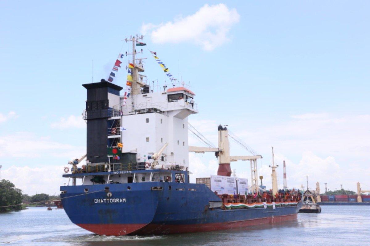 New trade routes to North East (via Bangladesh sea) and Bhutan open
