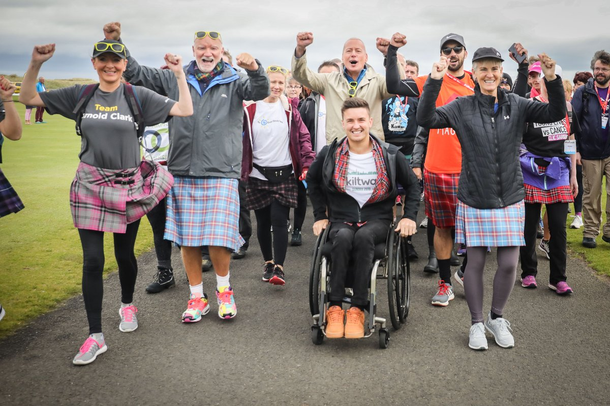 Massive shout out again to our Dundee Virtual Heroes!   They walked, they cycled, they ran, they jumped… all raising funds for their chosen charities 👏   Even better, Sir Tom Hunter DOUBLED their fundraising!   Find out more 👉   #DundeeVirtualKiltwalk