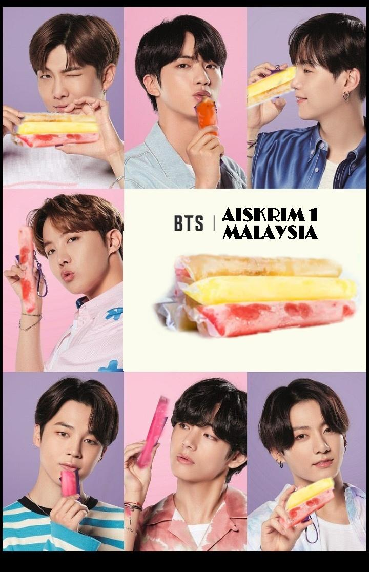 Bts x baskin robbin tak available kat Malaysia? No problem, we got that aiskrim 1 malaysia one <br>http://pic.twitter.com/VHtlAgFNcL