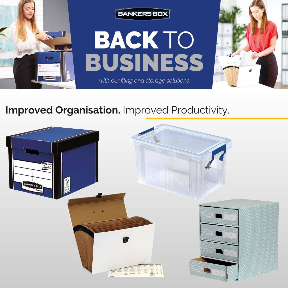 The flexibility to sort and stack your files in our plastic and corrugated storage boxes 🗃, allows for a clean desk policy, efficient access to documents and easy transfer between the home and corporate office.🏡🏢  ➡ https://t.co/X4U6WMBSiC  #BacktoBusiness #BANKERSBOX https://t.co/9PmW9RKuqt