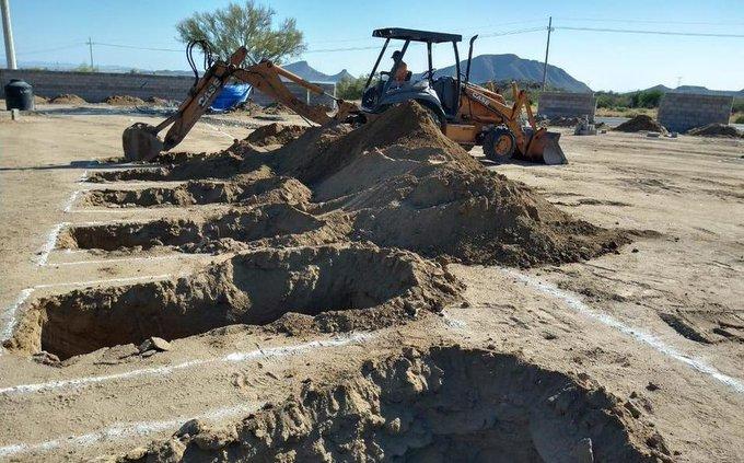 Salud autoriza uso de fosas covid-19 en Nuevo Laredo  https://t.co/gWCyM30vVG https://t.co/nk6TliCwOz