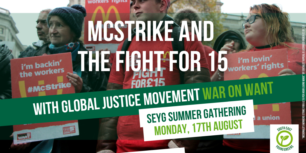The @FastfoodRights campaign is organising  fast food workers and winning better pay and conditions!  Join us and @WarOnWant to learn about the campaign and why the workers' right to join a union is so important.  All welcome, sign up!👇👇https://t.co/c2vJTvL26p https://t.co/z100l99ekK