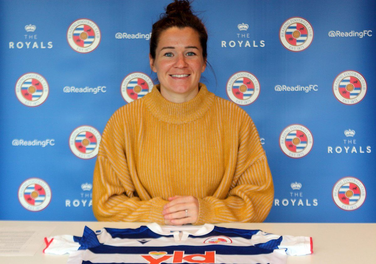 Excited to be a @readingwomenfc player! Looking forward to the next few years ✌🏼💙 https://t.co/lEGGPKJ2Rx