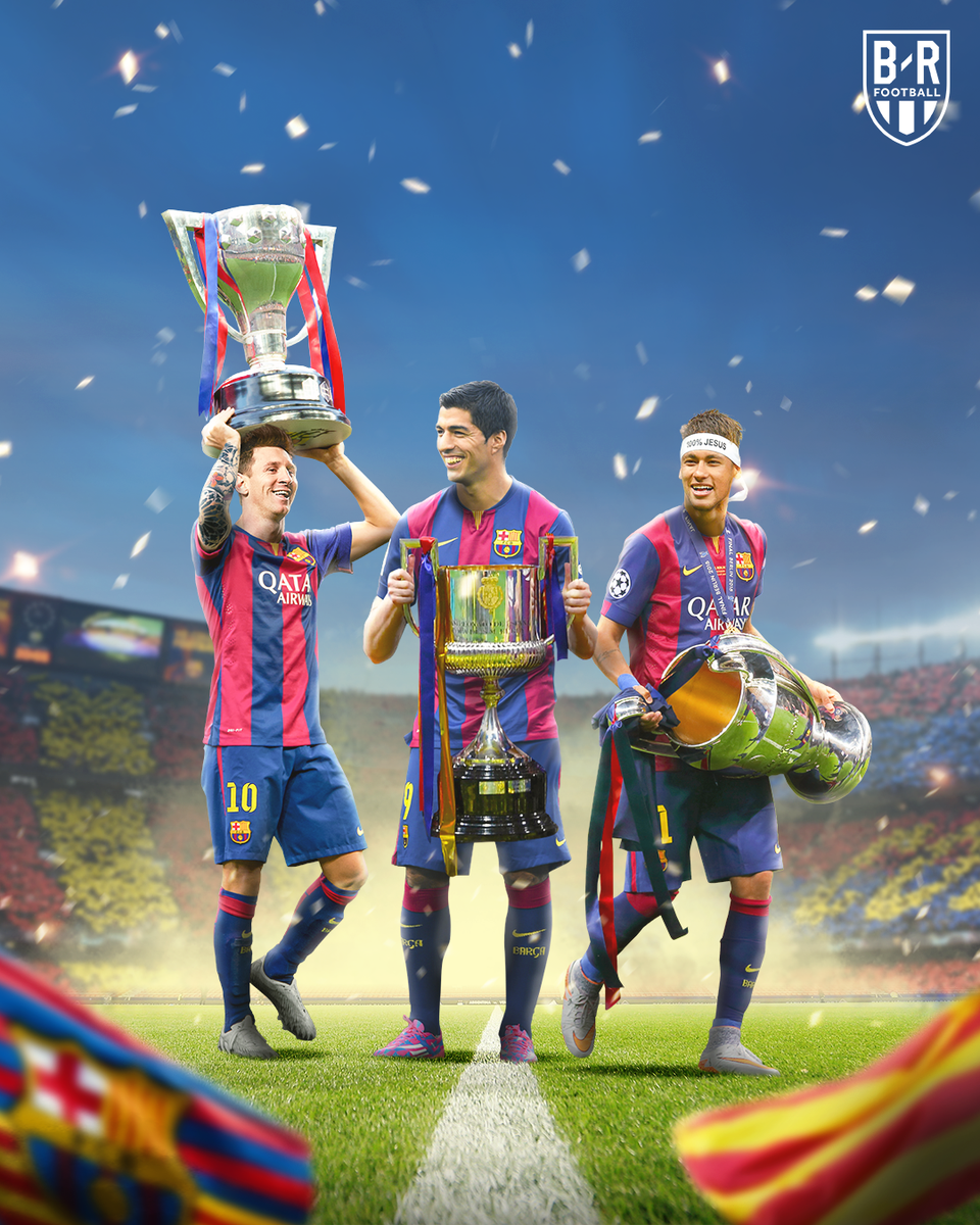 Six years ago today, Luis Suarez joined Barcelona and the MSN was born in 2014-15.  Messi: 58 goals, 29 assists Suarez: 25 goals, 23 assists Neymar: 39 goals, 10 assists   Champions League. La Liga. Copa del Rey. 🤯 https://t.co/wO0nn1xmGr
