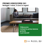 Image for the Tweet beginning: Promo Videocorsi 3x1 🎁🎁🎁: noleggia