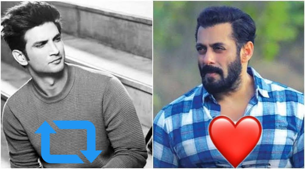 Who is the Real Bollywood Superstar in both.??  RT for Sushant        /      Like For Salman  <br>http://pic.twitter.com/09tRPl70BD