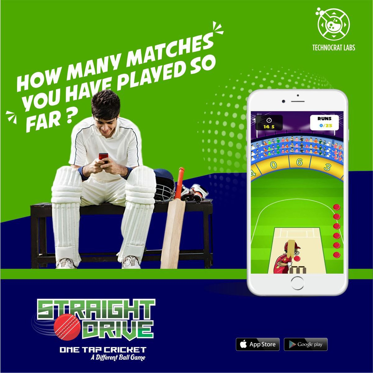 How many matches you have played so far ?Download the Straight Drive Cricket Game Now. For android users click http://rb.gy/zk0my8 and for iphone users click http://rb.gy/fynwuv  #StraightDrive #Drive_Cricket #StraightDriveCricket #MobileGame #Entertainment #OneTapCricketpic.twitter.com/EEh1xUJOBP