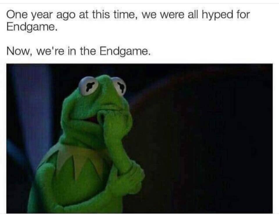 Who else is feeling the same way?! #AvengersEndgame #ENDGAME #2020memes<br>http://pic.twitter.com/pK30qAdQyD