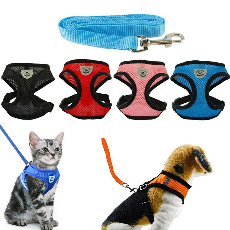 LMY25475 #Pet #Products Pet Products - Cat Collar Mesh Cats Harness Leash Belt Collier Chat Harnais Chat kitten Collar Pet Products Reflective Adjustable Leash  https://s.click.aliexpress.com/e/_dZpiJ4z   orderpic.twitter.com/9KNVcdUHaf