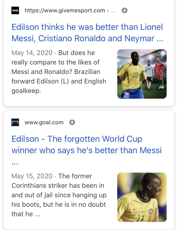"""To put this into context, this """"ex-Benfica player"""" also said he was better than Messi, Ronaldo and Neymar so take anything he says with a grain of salt. https://t.co/WPV9zFgOaX https://t.co/oi8ZVtuJnh"""