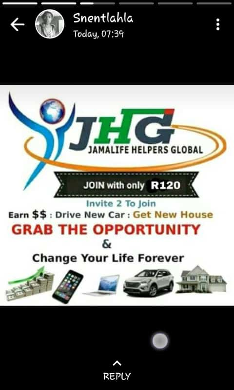 My name is Director proceed1 , a #life time member of  a network♡ marketing company.  To find out more on how to become a member. Hit me up in whats app (073 1996 986)  REMEMBER.......Networking is BETTER than NOTworking #StaySAFE