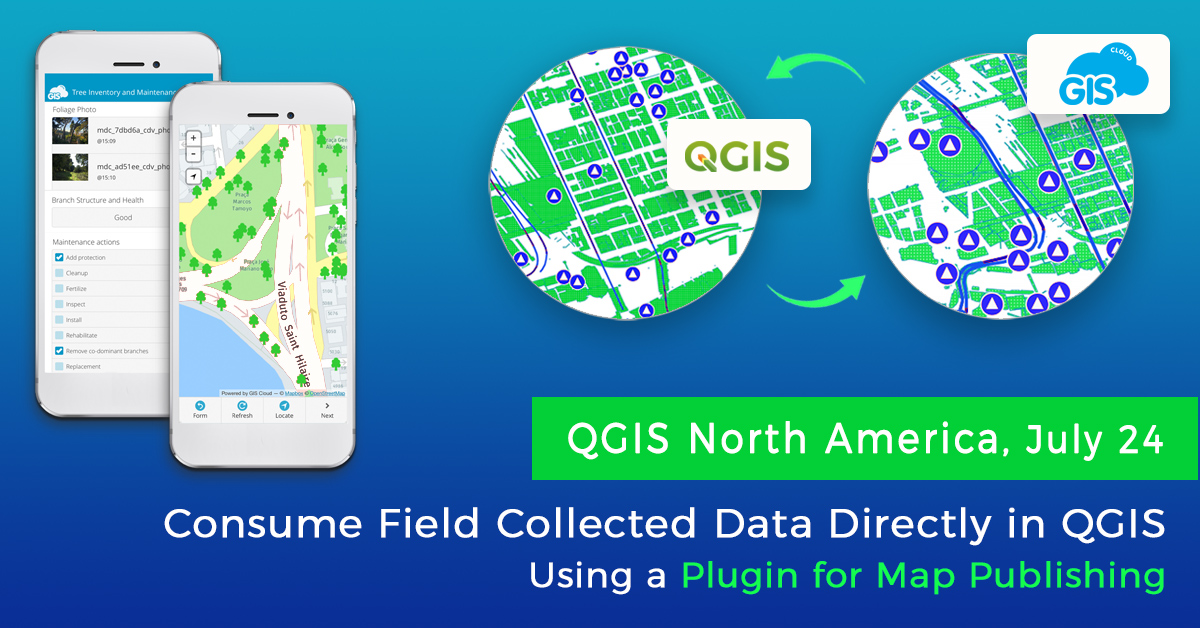 GIS Cloud takes part in the 2020 @qgis North America Conference. We will be presenting #GISCloud publisher for #QGIS with some new possibilities of consuming online data stored within GIS Cloud directly in QGIS using #WFS. #noregistration #nolimit #free.