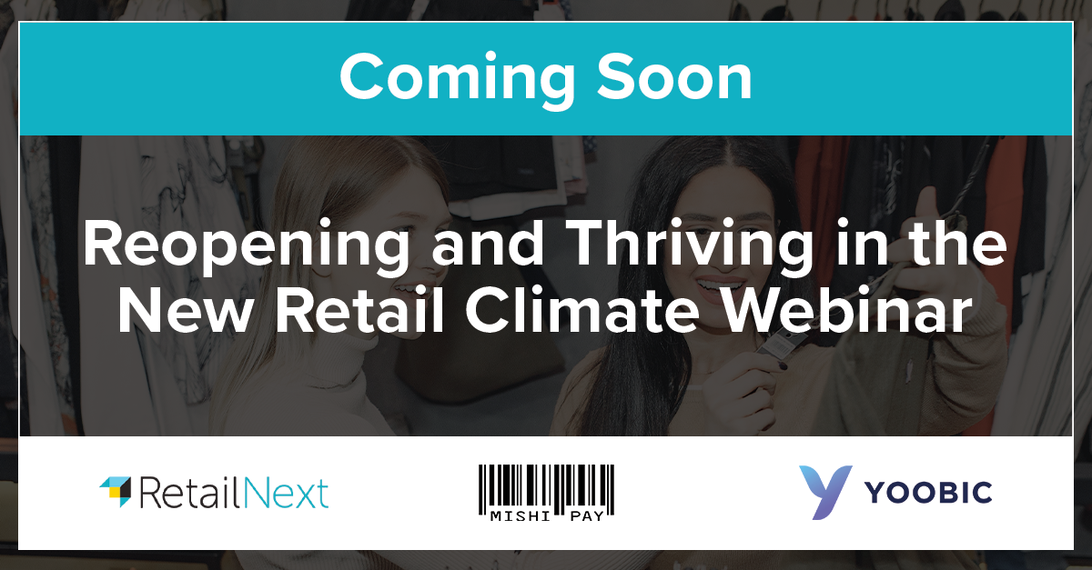 COMING SOON! Reopening and Thriving in the New Retail Climate Webinar - Register Now https://t.co/EkkkNbOnbC https://t.co/x7oDGfKG66