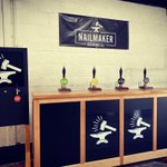 Image for the Tweet beginning: Our brewery tap, 'Bar by