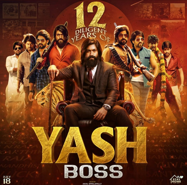 Can this picture makes :-    100 Retweets  & 100 likes   It can, because it's a superstar,    @TheNameIsYash...   Rt If you want to see   #KGFChapter2 so soon..   Like  for #12YearsOfYASHismCDP<br>http://pic.twitter.com/AhkZ7F4739