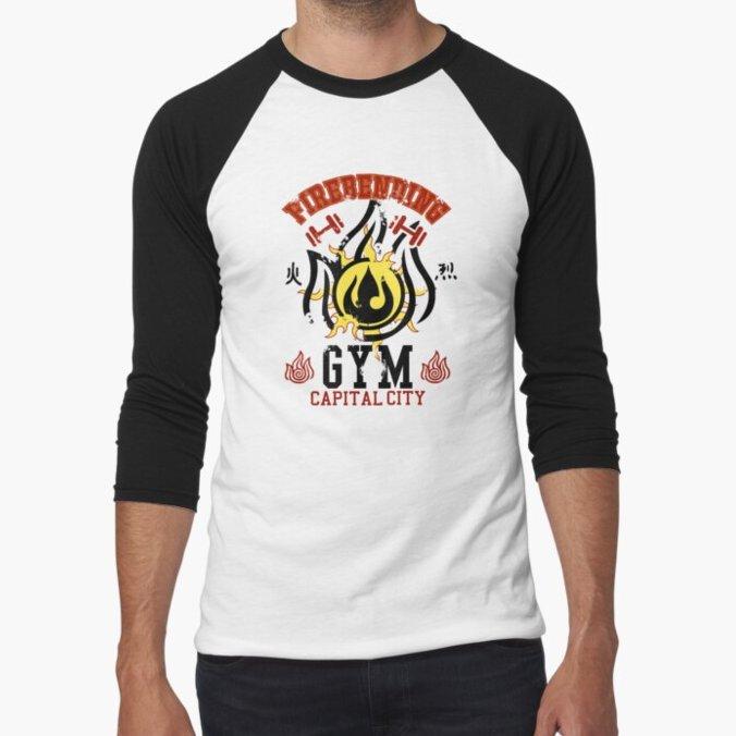 """Firebending Gym"" design in 3 color variations on sale on Teepublic:  Use code silentrebel30off for additional discount. #gym #fitness #atla #AvatarTheLastAirbender #fanart #firebending #firebender #cartoons #anime #shirts #sale #UniqueGifts #zuko"