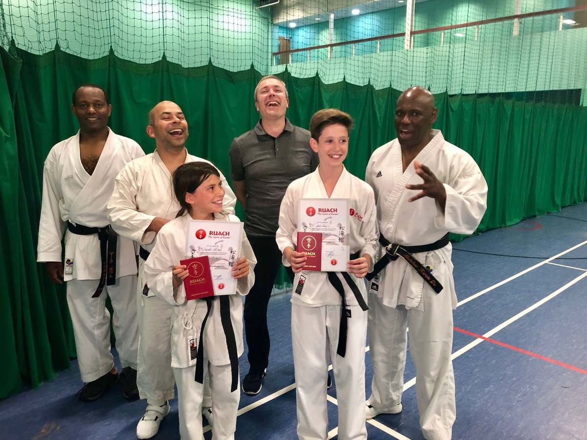 This time last year Farah Islam & Darcy Dines get 1st Dan Black Belt.  #throwbackthursday #throwback #proud #karate #learning #karatelife #traininghard #greatcoaching #skillsforlife #confidencebuilding #87RT #brumisbrill #ATSocialMedia #ATSOPRO #UKSmallBiz #MidlandsHour