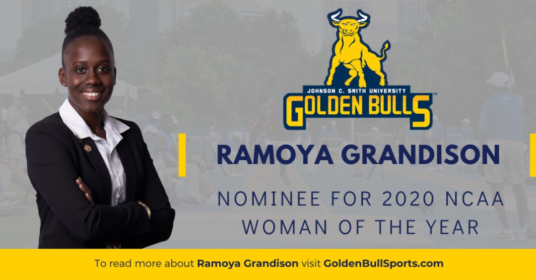 Congrats to Ramoya Grandison of JCSU, as a NCAA 2020 Woman of the Year nominee! https://t.co/5qAyekgh0N