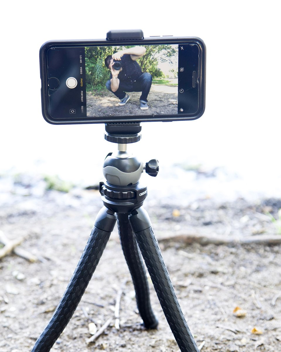 Get double the action with the TR-050 BoaPod™ with your phone AND your camera. This unique tripod comes with a wireless bluetooth shutter remote so you don't have to reach over & touch your screen. https://t.co/QslYP6cMjc #photography #tripod #camera #photo #cameragear #selfie https://t.co/brHQyZkdb4