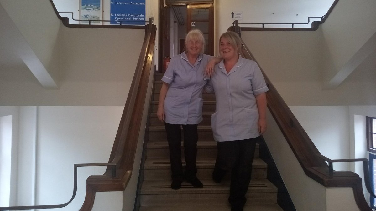 #ThankYouThursday to Natalie Cardiss, Julie Watson and Jess Shaw for all their hard work preparing the old nurses home for some recent filming. Outstanding effort from them all. Tim Field.  #TheLeedsWay #collaborative https://t.co/CpeqWMHRCS
