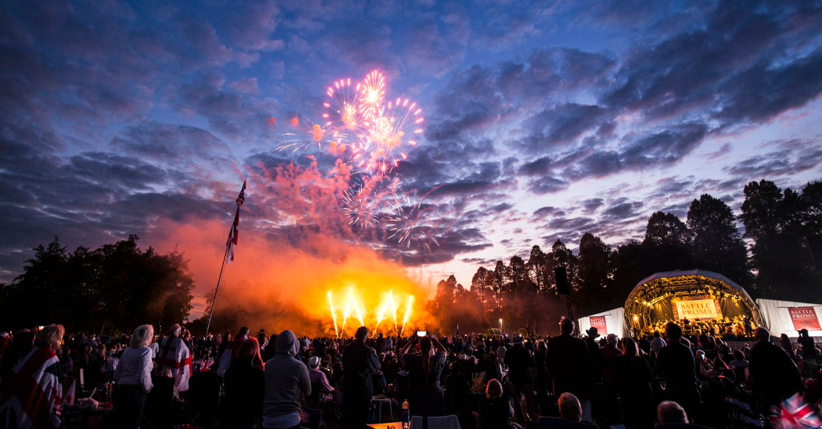 🎵🍾 Can you believe that this Saturday was going to be the 20th annual Battle Proms at @Hatfield_House. Anyone out there been to every single one?? This year have a #BattlePromsPicnicParty in your garden - go to https://t.co/9XsdBv8qxQ for lots of ideas & raise £ for @SSAFA https://t.co/PeA3e9Zo76
