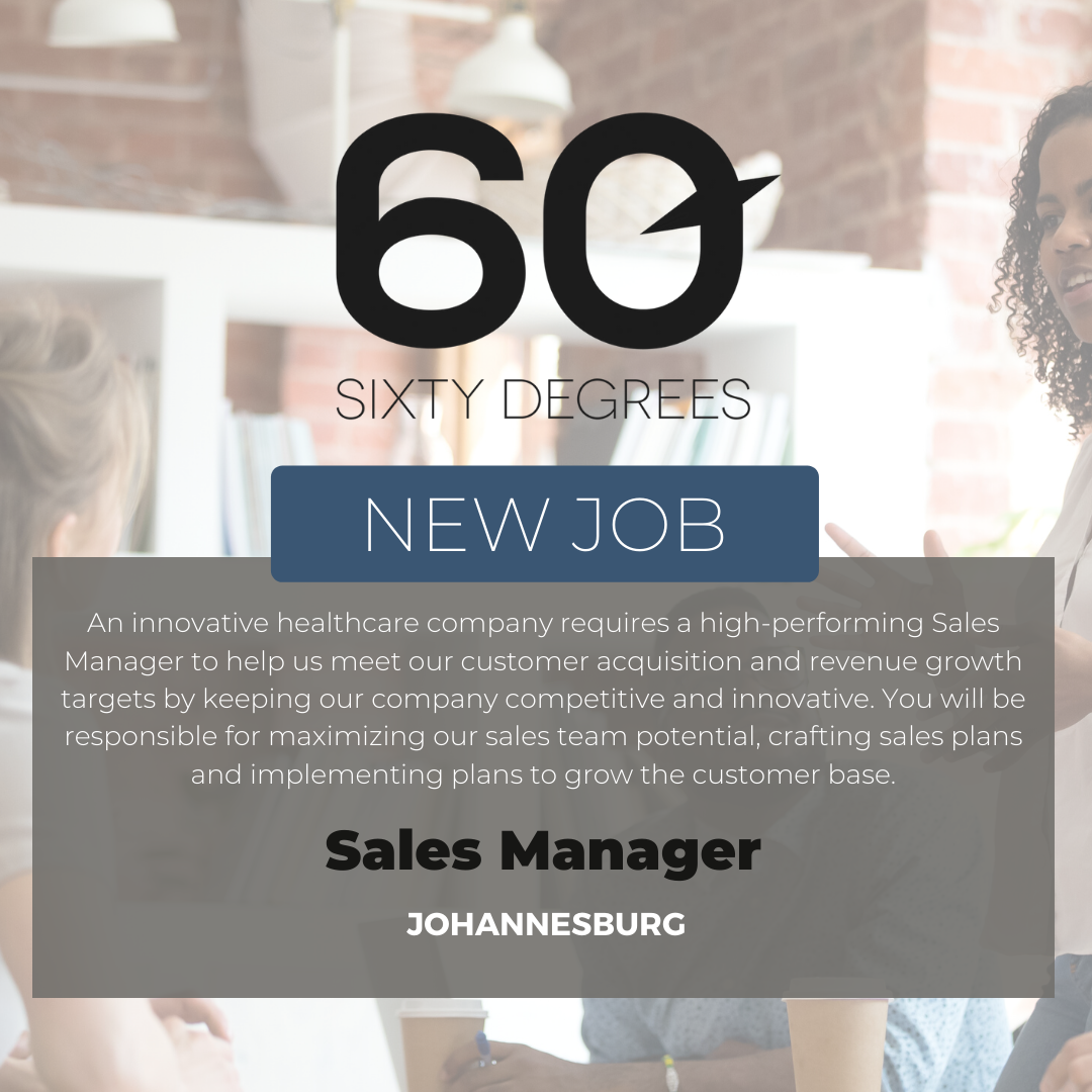 test Twitter Media - New #JobAlert - Sales Manager in JHB  An innovative healthcare company requires a high-performing Sales Manager to help us meet our customer acquisition and revenue growth targets by keeping our company competitive and innovative.  https://t.co/mlU62lMLoO https://t.co/S4BZtKS7Pi