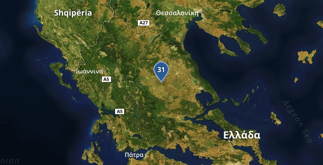 Warmest Greek location is #Palamás: 31℃ Time: 15:31:40<br>http://pic.twitter.com/dAj55ePscD