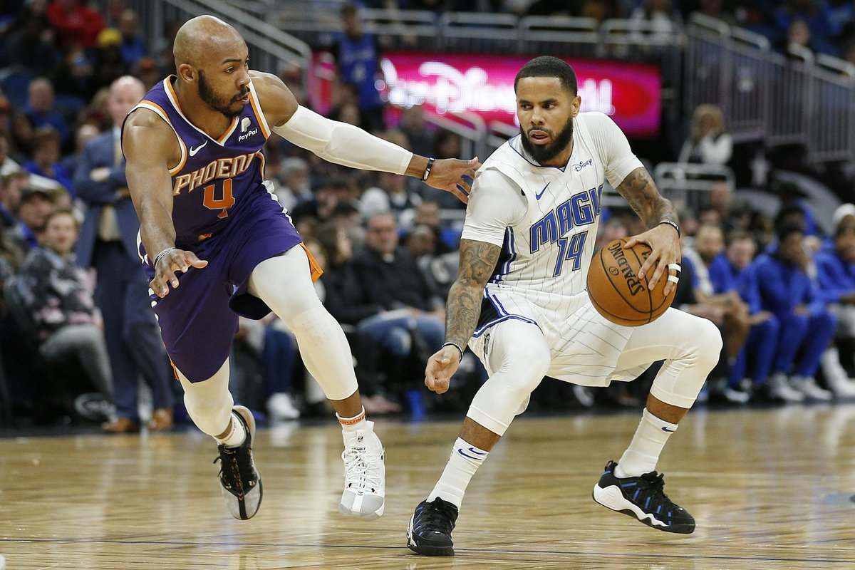 Suns backup point guard hunting: The case for D.J. Augustin https://t.co/Bxgg3Zn26X https://t.co/Rq2C4jxUdl