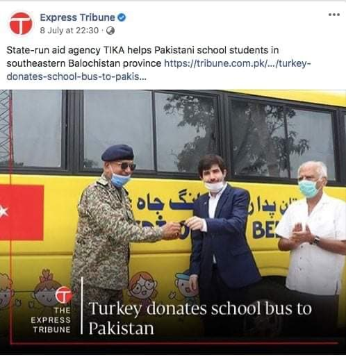 Google invests 10 billion US dollars in India over the next 5-7 years, Turkey donates a school bus to Pakistan .. <br>http://pic.twitter.com/ZBcsDwSfG5