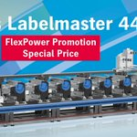 Image for the Tweet beginning: Gallus Labelmaster 440 with 8