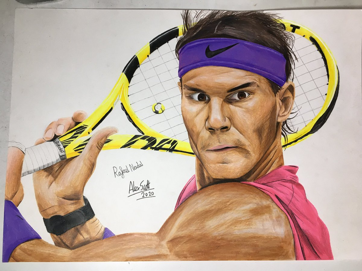 @RafaelNadal I drew you @RafaelNadal https://t.co/sbckiYCrcm