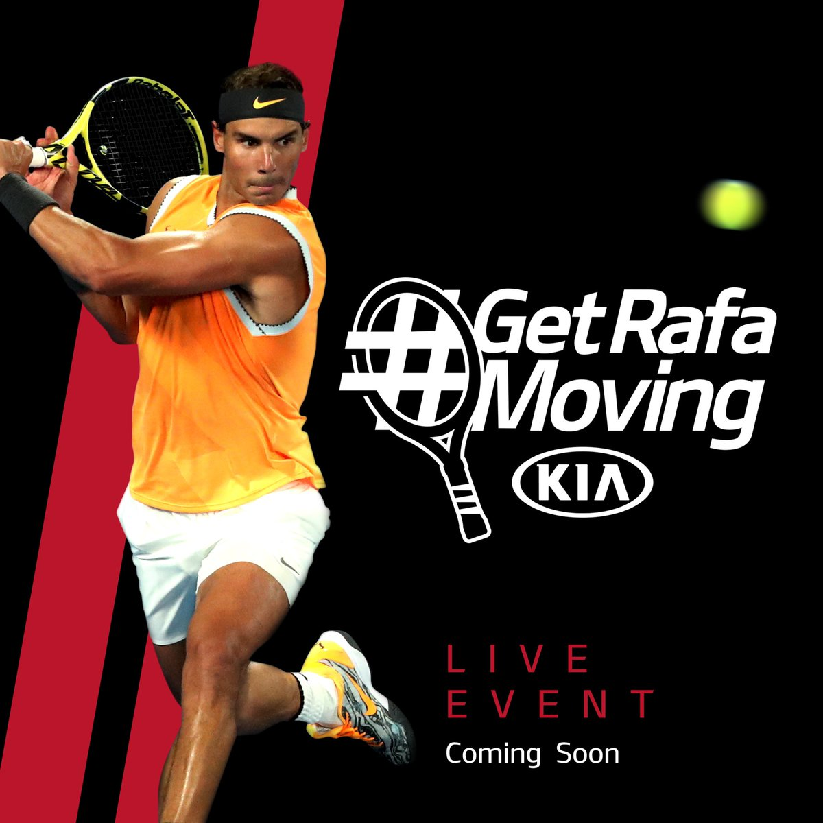 Tennis is coming back, so to help me get ready we'll be hosting an interactive live event, #GetRafaMoving on 24/07. Don't miss it. https://t.co/qLZFyOyTyp