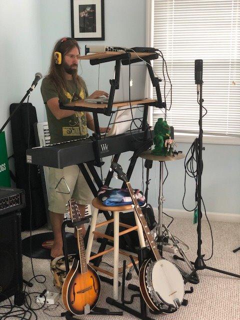 Summer vacation music studio operational #DIYrecording #protools #music