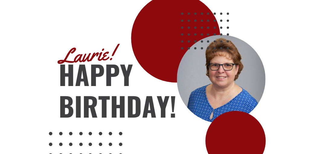 🎂 Happy Birthday Laurie! 🥳  Laurie is an account representative in our Cumberland location.  #happybirthday #cumberland #celebrate https://t.co/yNW85ZFOdP