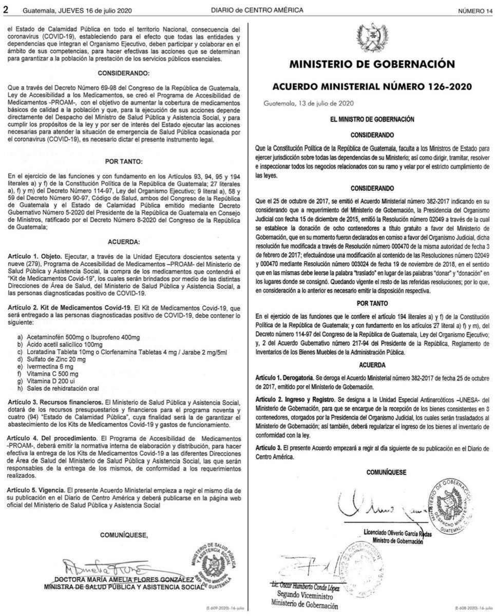 test Twitter Media - El Ministerio de Salud publica el Acuerdo Ministerial 181-2020 sobre el kit de medicamentos COVID-19. https://t.co/abMzZA5JQZ