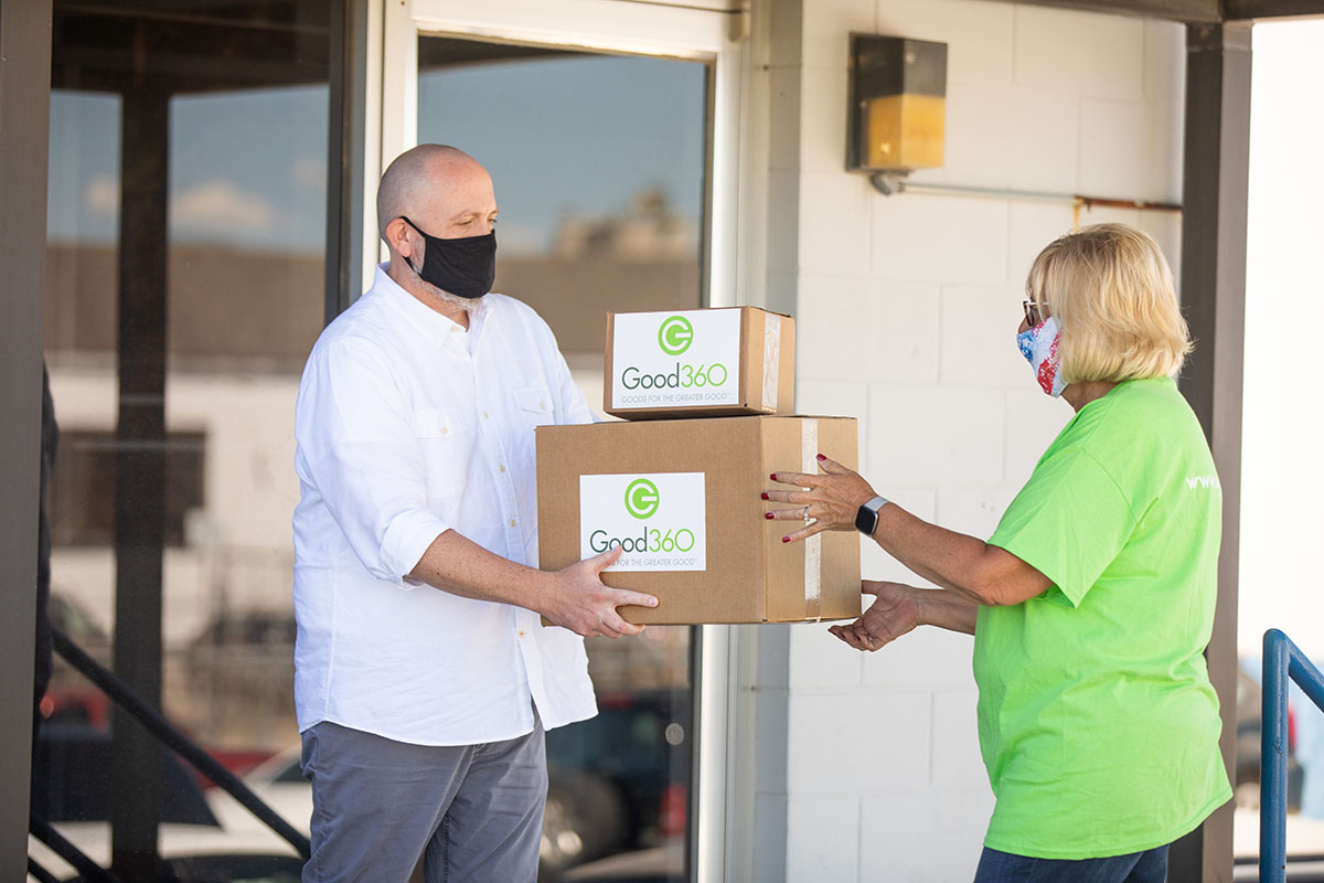 Good360 has surpassed more than $125 million in donated goods in response to COVID-19. Through both product and monetary donations, Good360 works with a vetted network of nonprofits to get essentials to people in need. #purposefulgiving   Learn more: