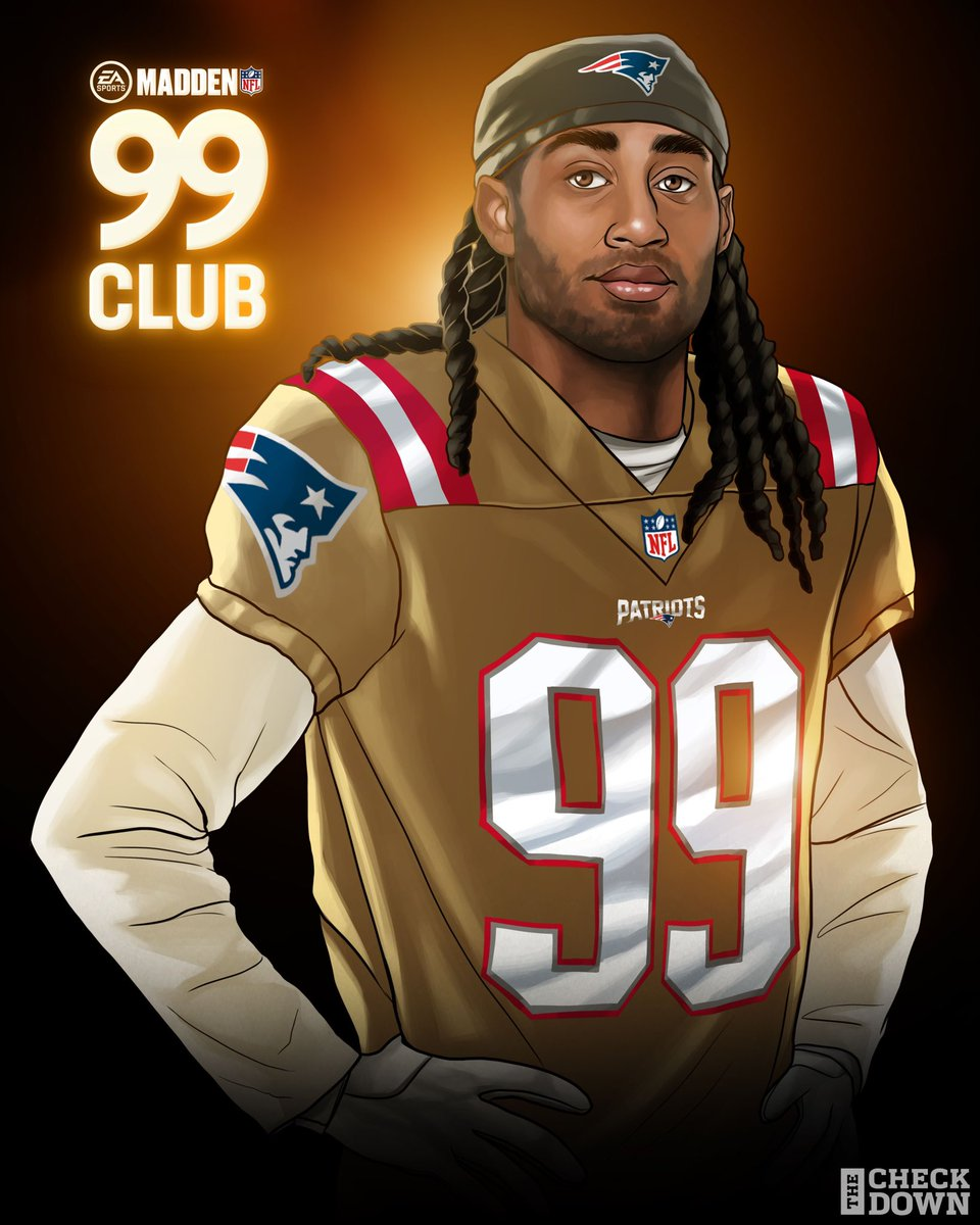 Replying to @thecheckdown: Stephon Gilmore officially gets that 99 🔒 @BumpNrunGilm0re @Patriots @EAMaddenNFL