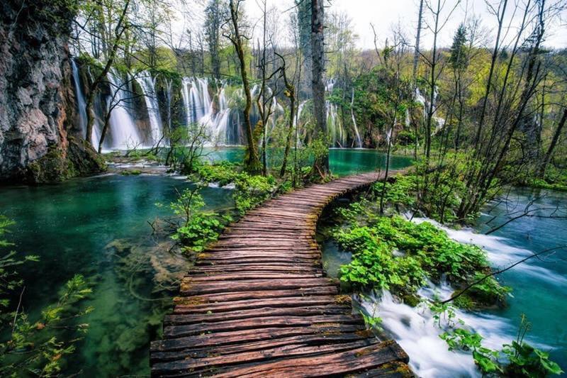 oneworld365: Plitvice Lakes National Park, Croatia<br>http://pic.twitter.com/Kvy3XxFC6t