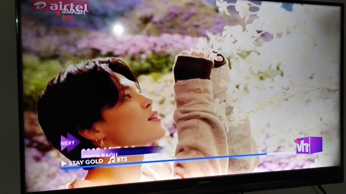 Thankyou @Vh1India for playing #StayGold_BTS<br>http://pic.twitter.com/7m6tyAk9RS