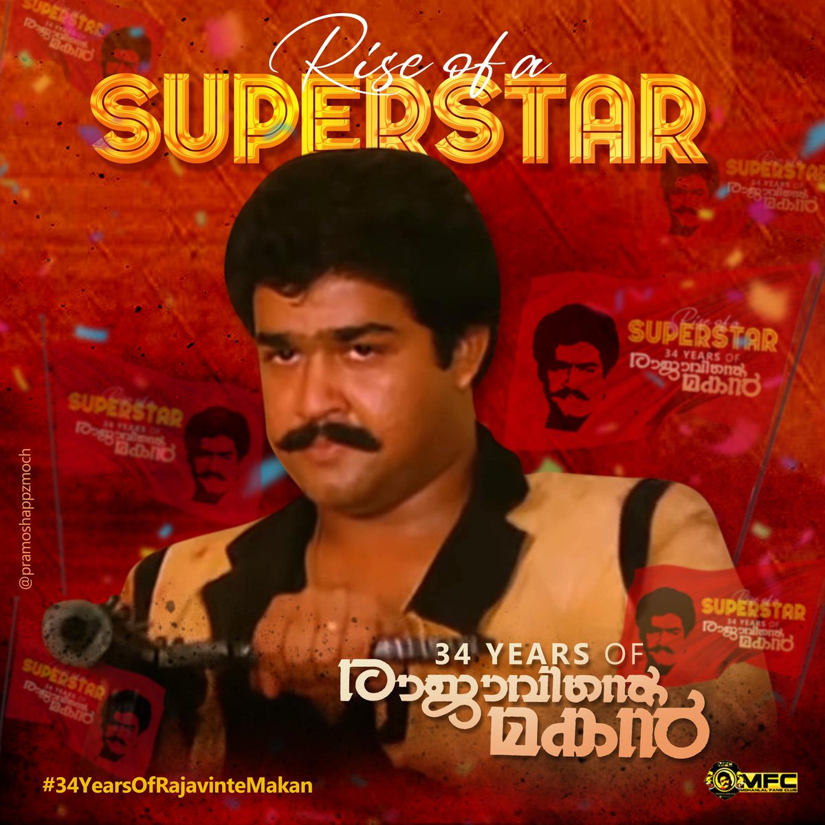 The Rise of A Superstar   #34YearsOfRajavinteMakan<br>http://pic.twitter.com/PCKulDYYW4