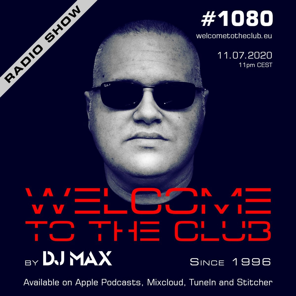 check out my Welcome To The Club #radioshow #1080 | premiered last Saturday Link:   #welcometotheclub  #djmax #electronicmusic #house #techhouse #clubbing #djlife #dj #radio #producer #croatia #ibiza #amsterdam #italy #uk #usa