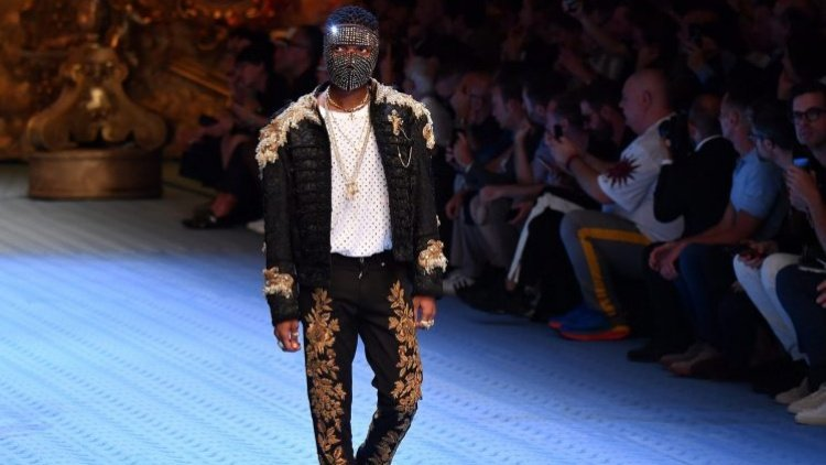 6. He walked the Dolce and Gabbana runway at the Milan Fashion Week in 2018 alongside supermodel, Naomi Campbell.