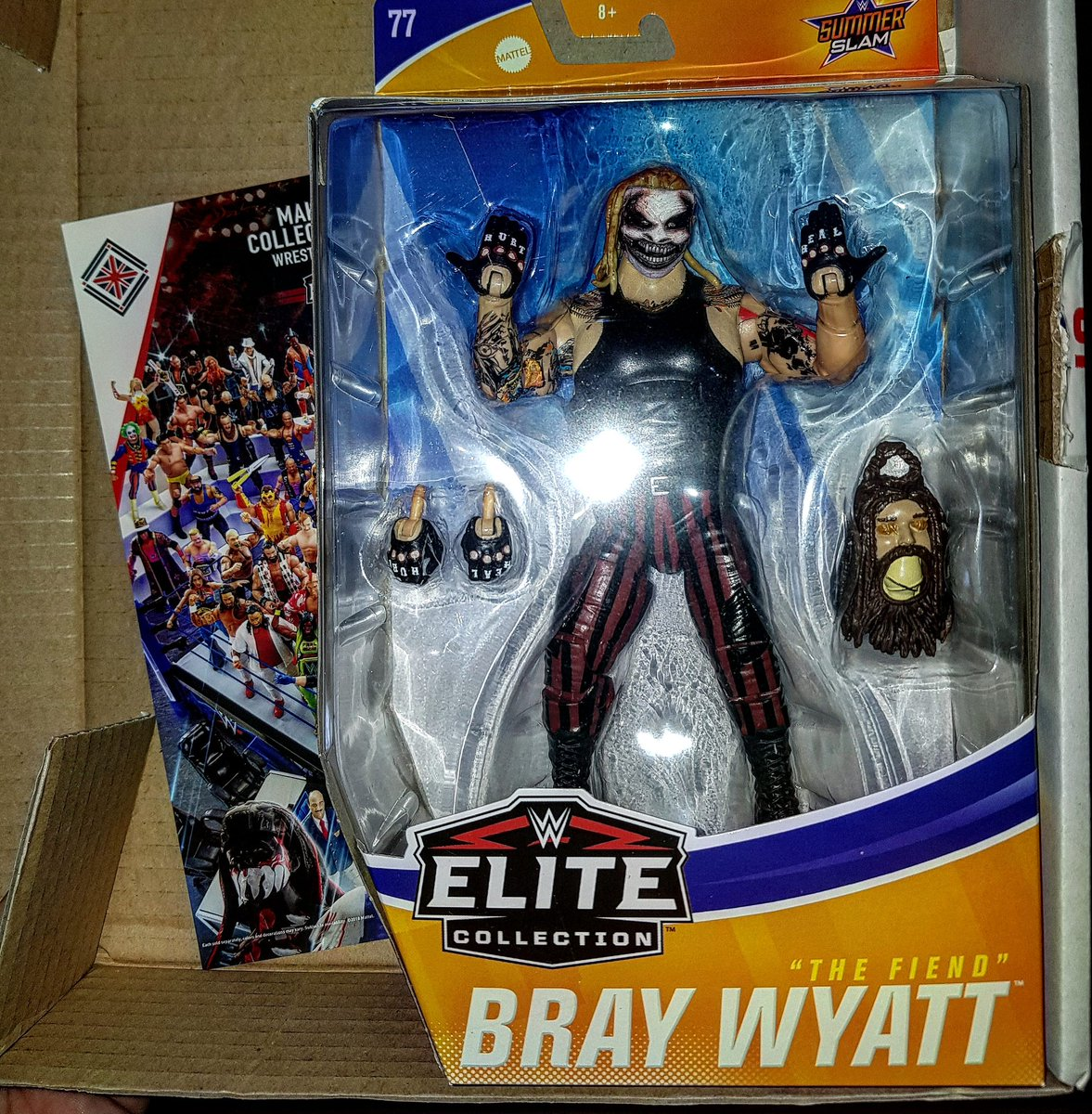 THANKYOU SO MUCH ONCE AGAIN @wrestlingshop I TOLD MY SON THEY WERE ALL SOLD OUT ABD HE WAS SO GOOD ABOUT  IT HES GONNA FLIP HIS LID THANKYOU FOR THE FAST DELIVERY AND GREAT  SERVICES AS ALWAYS THIS PLACE IS MY ONE STOP SHOP FOR ALL WRESTLING FIGURES @WWEBrayWyatt @BrayWyatt1977<br>http://pic.twitter.com/sY2RBp4BZb