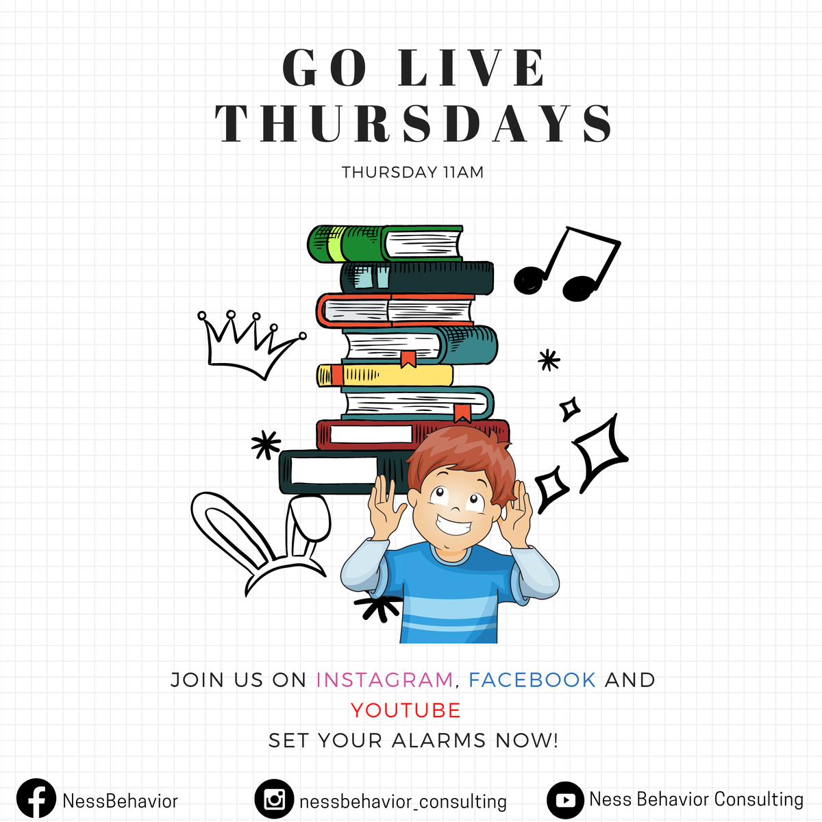 WE ARE NOW GOING LIVE EVERY THURSDAYS! 😉  Catch us on our Instagram, Facebook and Youtube! SET YOU ALARMS NOW! 🙋🏻🔊🔔  #autismawareness #autismspeaks #autism #autismspectrum #autismo #educate #mentalhealth#blackownedbusiness #supportblack #supportautism #autismacceptance https://t.co/KztwChoAPQ