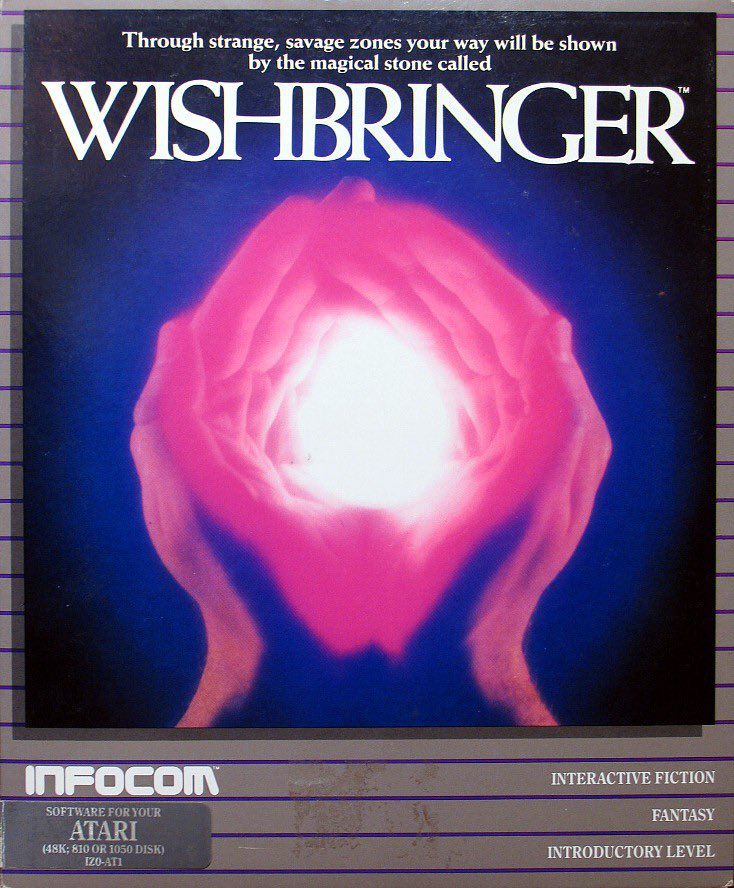 For the NexT ePISoDe, @carrington and I will play Wishbringer. Play along if you like.<br>http://pic.twitter.com/c5KFD5HWbn