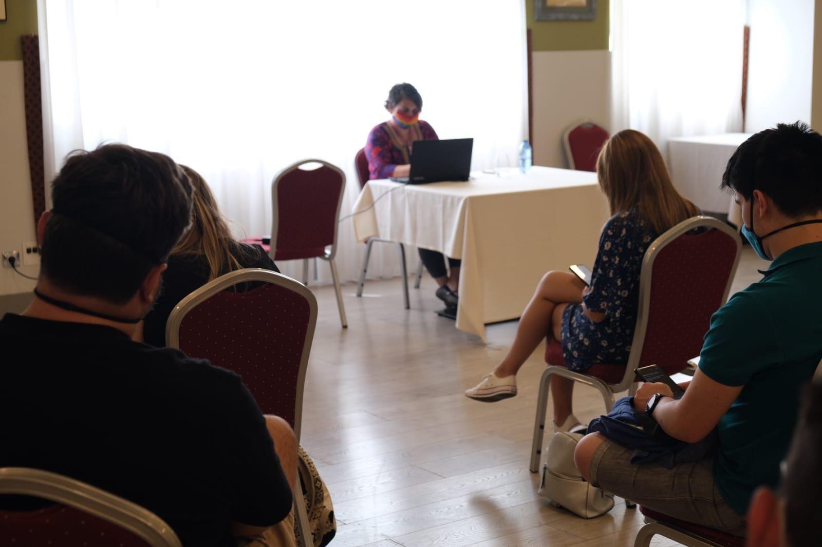 El taller de relatos de Sofia Rhei en el Celsius 232