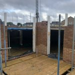 Image for the Tweet beginning: #Construction continues on Nuxley Road
